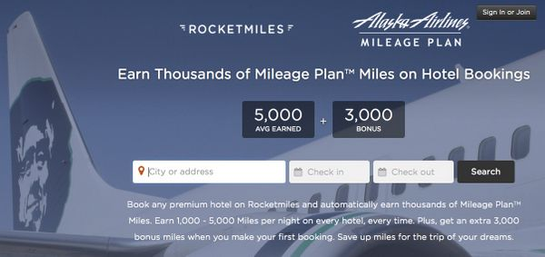 News You Can Use – 3,000 Alaska Airlines Miles for 1st Rocketmiles Booking and More!