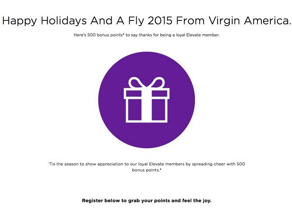 News You Can Use – 500 Free Virgin America Points, 15,000 Bonus US Airways Miles, and More!