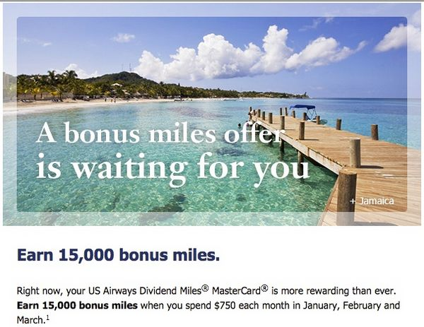 News You Can Use 500 Free Virgin America Points 15,000 Bonus US Airways Miles And More