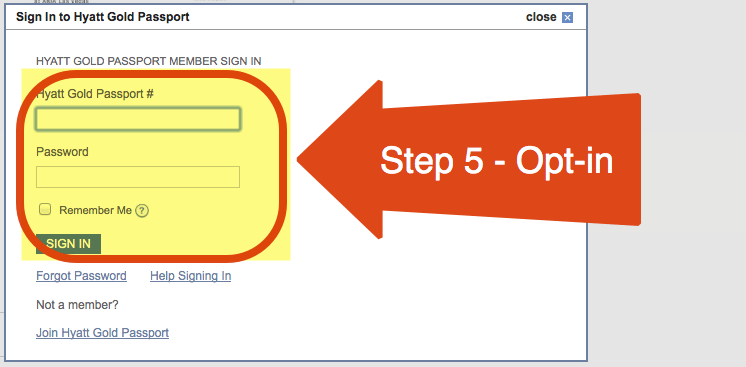Step 5 - Opt-in