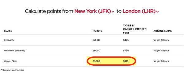 Best Ways To Use The 35 AMEX Transfer Bonus To Virgin America