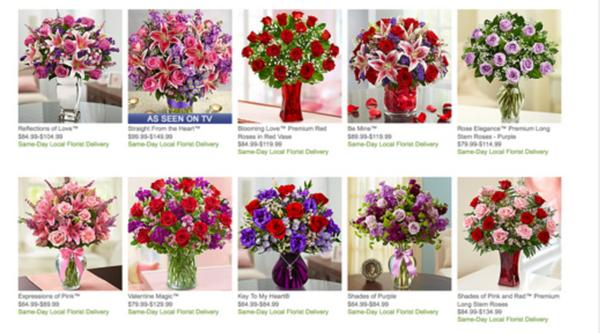 Blog Giveaway: $200 in 1-800-Flowers Gift Cards for Valentine's Day!