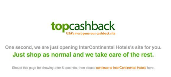 Can You Get Cash Back On An Existing Hotel Reservation