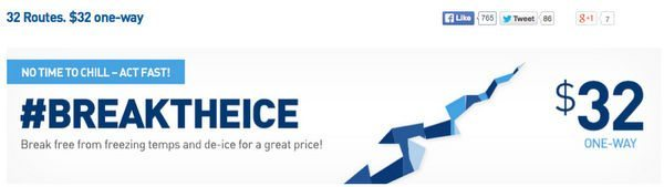 HOT!  JetBlue $32 Fare Sale From New York, Ends 4:00 PM Eastern Time!