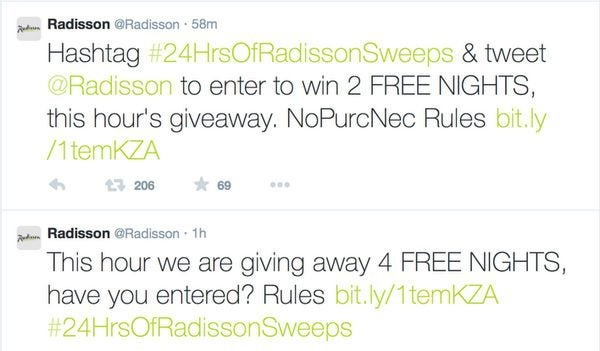 Hot Win Radisson Free Nights On Twitter Every Hour Ends Tomorrow