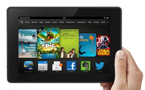 Kindle Fire HD Winners