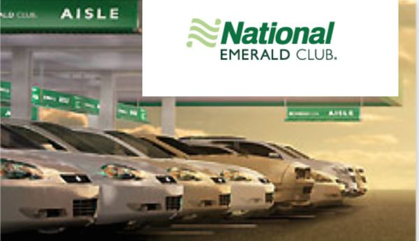 National Car Rental Executive Status AMEX Gift Card Winners