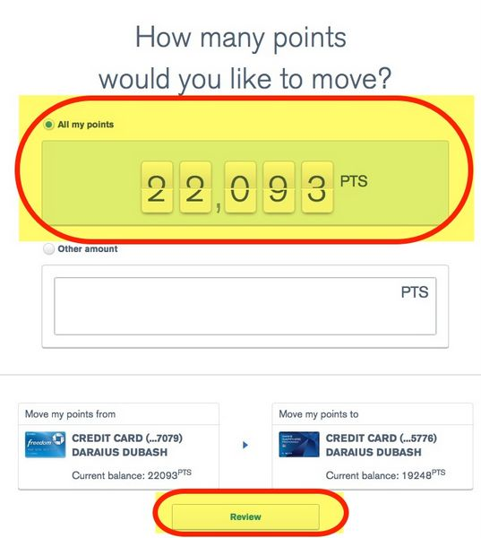 New Way To Transfer Your Chase Ultimate Rewards Points Between Accounts