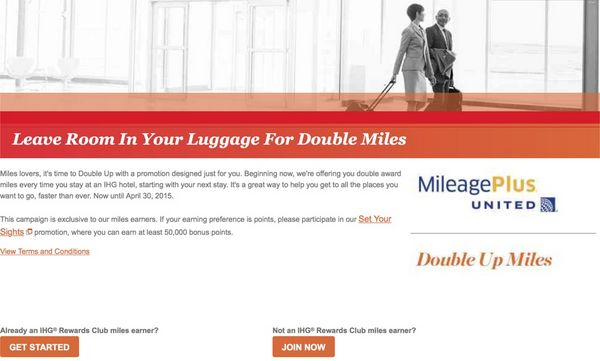 News You Can Use 2X United Airlines Miles For IHG Stays 10 Serve Credit And More