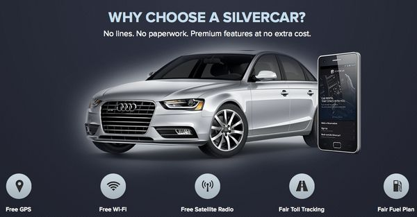 Rent an Audi A4 in January for $59 per Day With Silvercar
