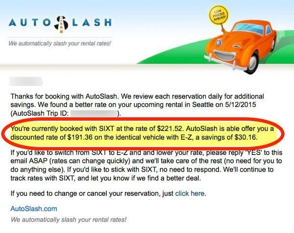 Will AutoSlash Save You Money On Car Rentals