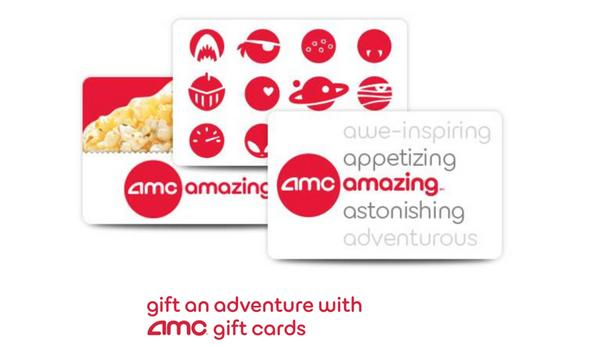 Blog Giveaway Four 50 AMC Theatres Gift Cards