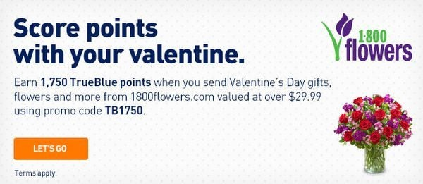 Earn 1,750 JetBlue Points Worth 26 With 1-800-Flowers