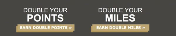 Earn Double Hotel Points Or Miles When You Stay At Hilton