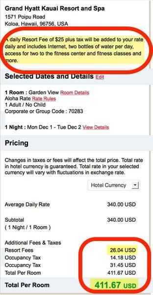 How To Avoid Hotel Fees