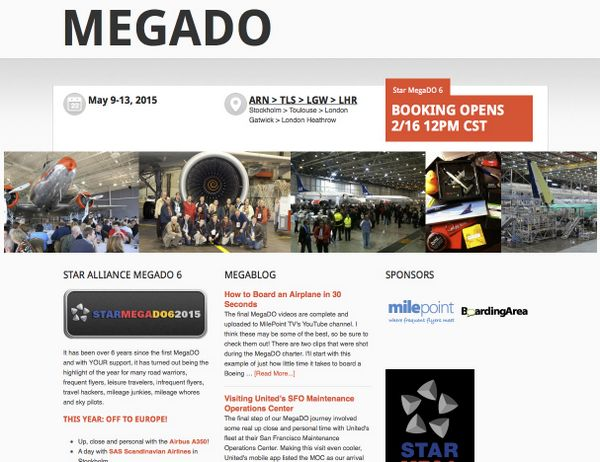 Miles Points Fanatic's Dream Star MegaDo 6 Tickets On Sale Now