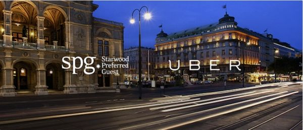 New Uber Awesome Way To Get Valuable Starwood Points For Hotels Flights