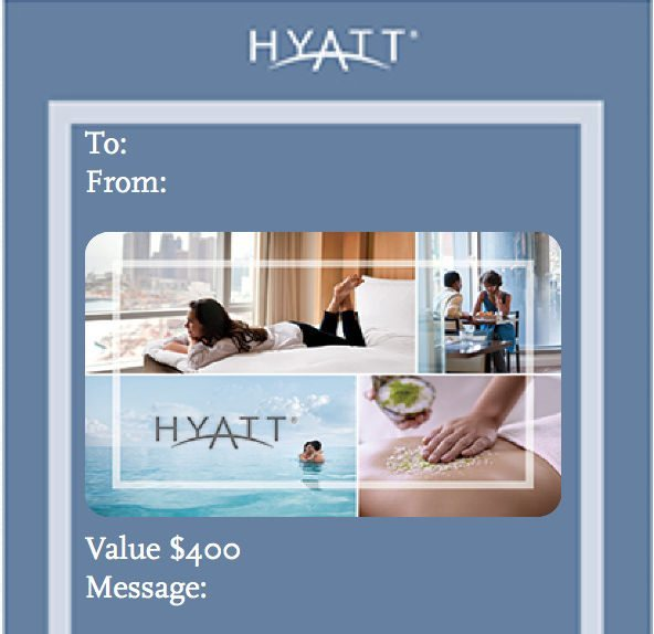 News You Can Use Win Up To 400 In Hyatt Gift Cards Great Club Carlson Deal And More