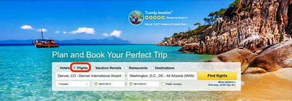 Travel Smarter With TripAdvisor Part 2 Searching For Airfare