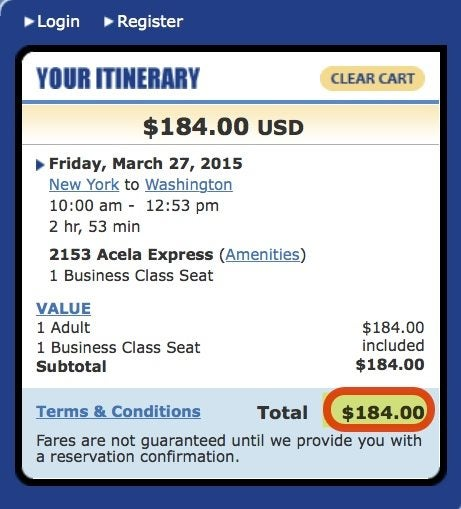Double Points On Amtrak