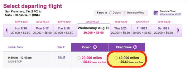 How To Earn And Use Virgin America Points Part 4 Using Virgin America Points On Partners Hawaiian Airlines