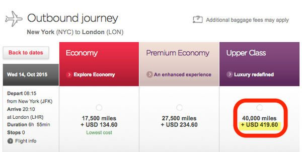 How to Earn and Use Virgin America Points - Part 5: Using