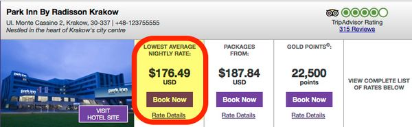 How To Get 2 Free Hotel Nights Paying Income Tax With The Club Carlson Card