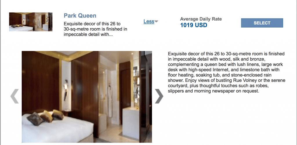 One Night at the Park Hyatt Paris Vendome Costs ~$750