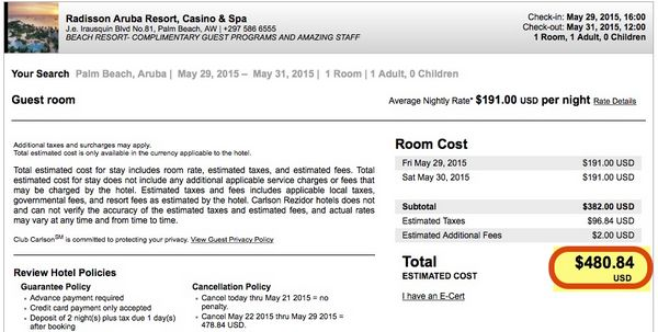 Today Only Save Money On Club Carlson Points