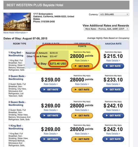 Today Only Save On Best Western Points