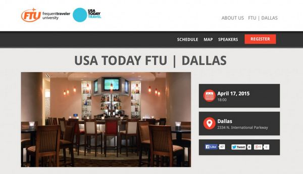 Which FTU Dallas Big Travel Learning Session Are You Most Excited About