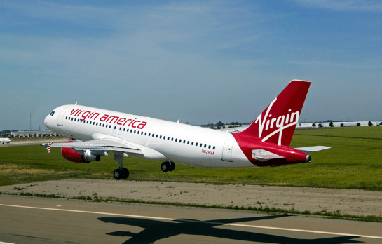 Act Fast:  Save 10% on Virgin America Flights!
