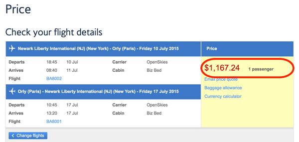 Deal Alert Fly Business Class From New York To Paris Round Trip For 1,167