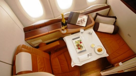 Fly Amazing First Class Suite to Europe With Little More Than 1 Credit Card Sign-Up Bonus