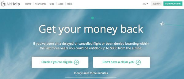 Get Compensated for Delayed, Canceled, or Overbooked Flights With AirHelp