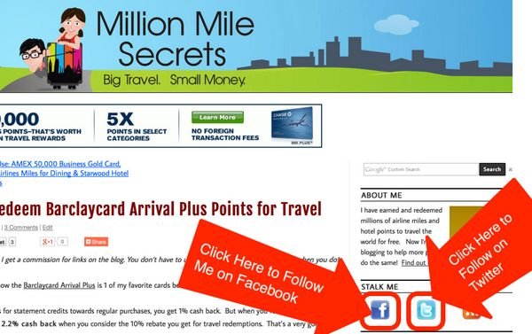 How To Quickly Find What You're Looking For On Million Mile Secrets