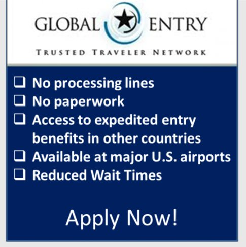 New 100 Global Entry Credit With Citi American Airlines Executive Card Will Save You Time At The Airport