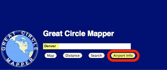 Quickly Find Flight Distance Duration With Great Circle Mapper