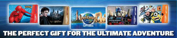 200 In Gift Cards To Universal Orlando Resort Winners