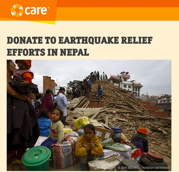 Emily & I Donated to Help Recovery Efforts in Nepal & We Hope You Will Too