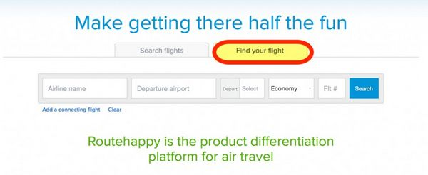 Find The Most Comfortable Flight With Routehappy