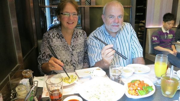 My Chinese-Food-Loving Parents Were Forced to Use Chopsticks In This Favorite Destination!