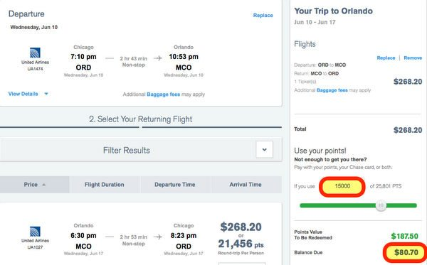 Save Points And Money Using The Chase Ultimate Rewards Travel Portal