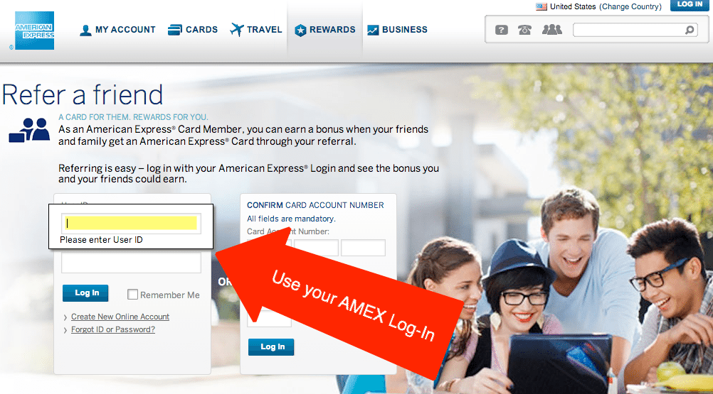 Limited Time:  Earn Bonus Points Referring Credit Cards to Friends & Family