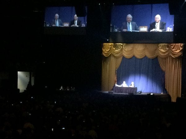 Berkshire Hathaway Meeting 2015