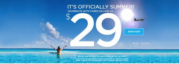 Ends Tomorrow Frontier Airlines Fare Sale 1 Way Flights Just 29