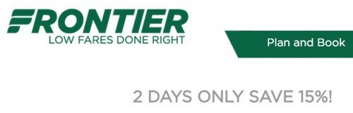Ends Tonight 15 Off Frontier Flights