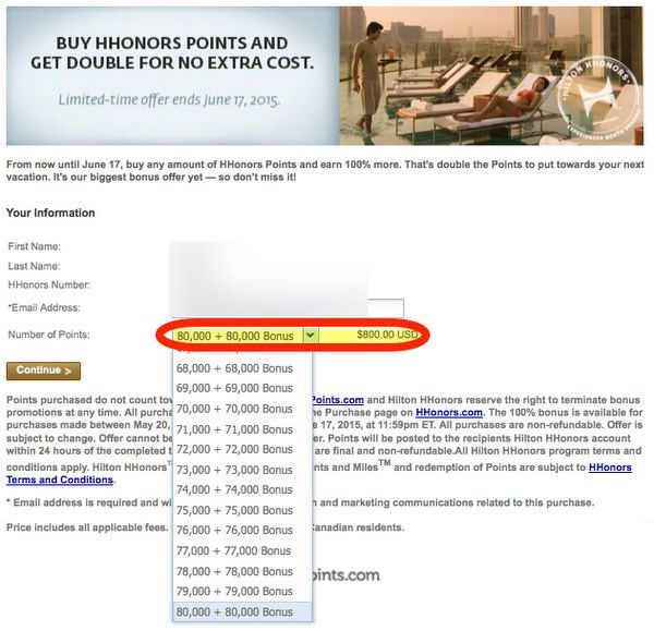 Last Week To Buy Hilton Points With 100 Bonus A Good Deal For Some