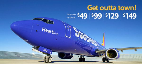 Southwest Sale: $49 Flights Each Way (Ends Thursday!)