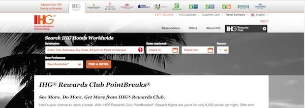 5,000 Points Per Night For These New IHG PointBreaks Hotels
